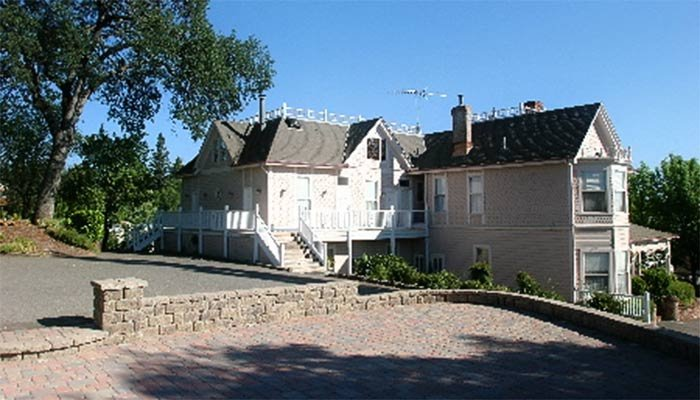 Rear exterior of the Inn