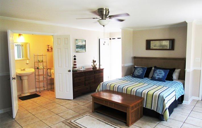 room at Dauphin Island Harbor House