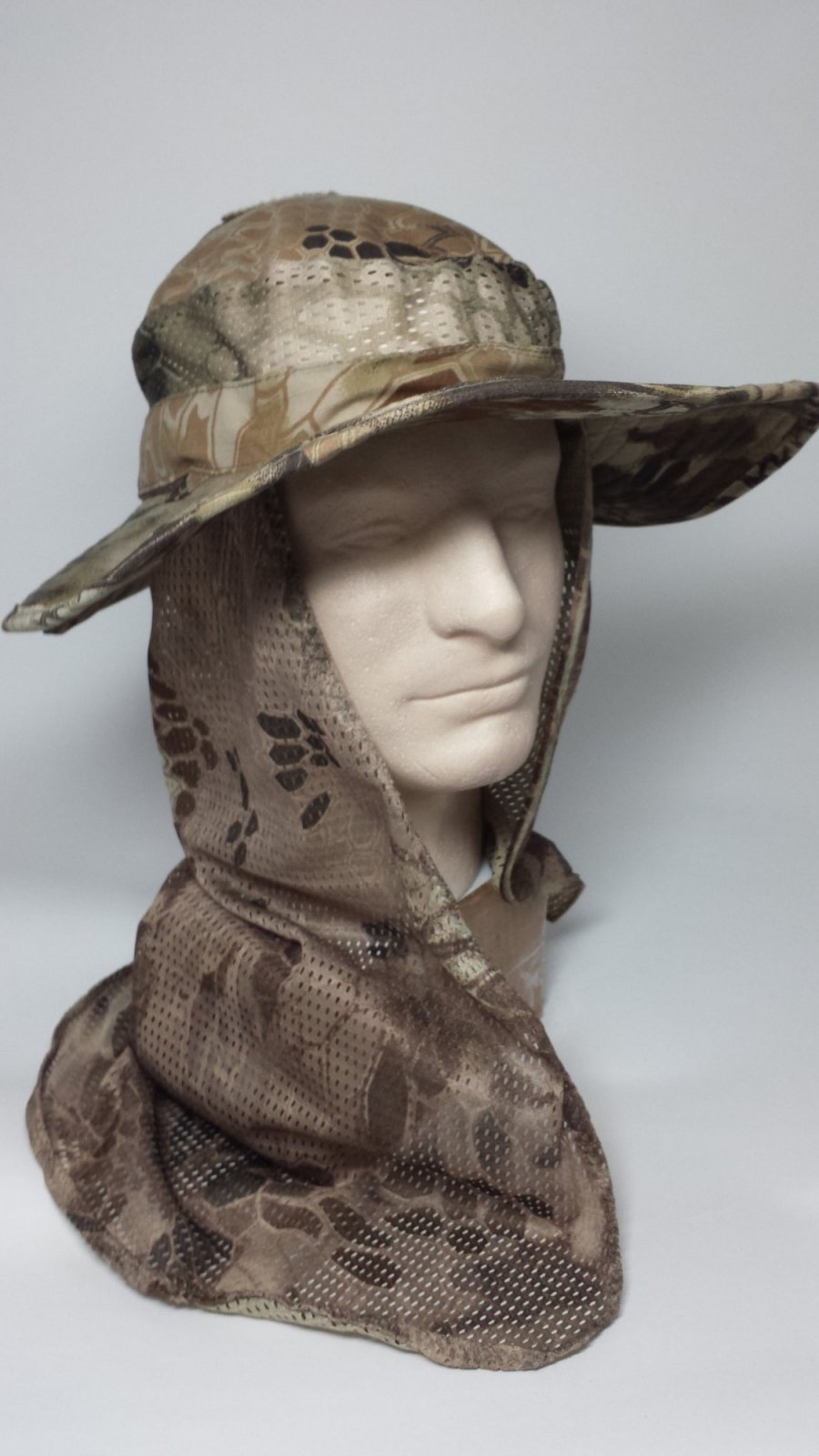 Integrated Electronic Hearing Muff Boonie Hat