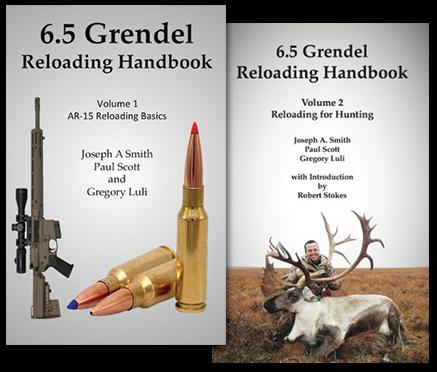 6.5 Grendel Reloading Handbook Combo Volumes 1 & 2