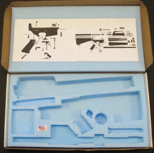 AR15 Build Box Empty