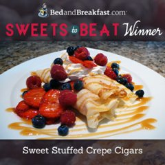 BedandBreakfast.com Sweets to Beat WInner