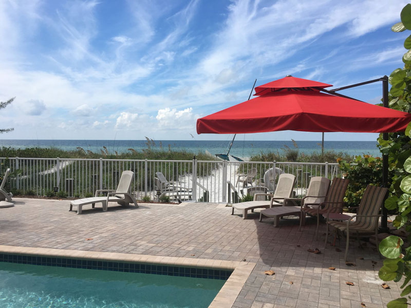 Joyce's Beachfront Suite Three at Carter Vacation Rentals