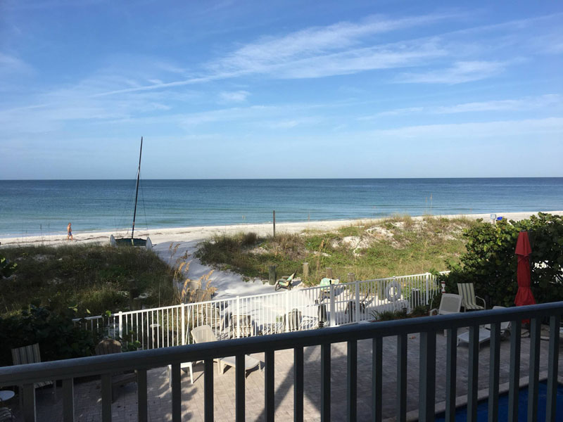 Joyce's Beachfront Suite Two at Carter Vacation Rentals
