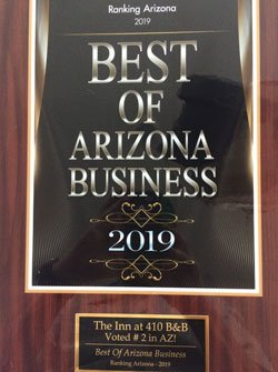 Best of Arizona Business Award 2019