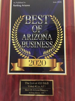 Best of Arizona Business Award 2020