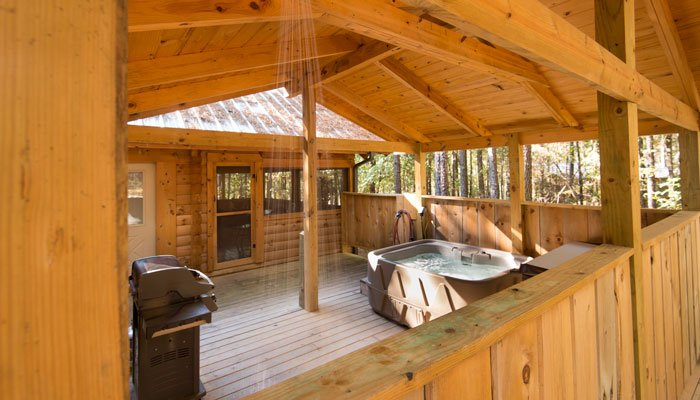 Virtual Tour of Romance Log Cabin