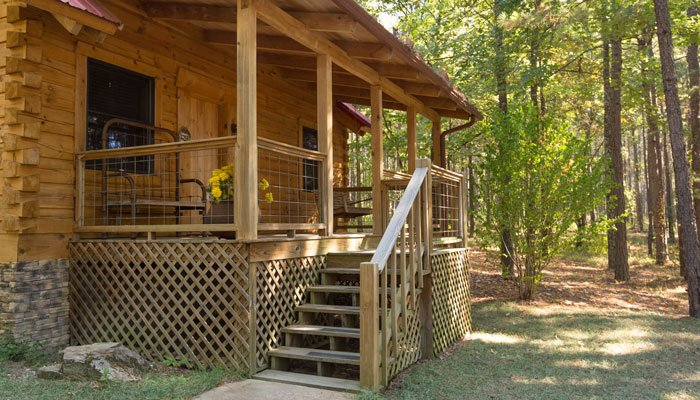 Virtual tour of Ozark Log Cabin