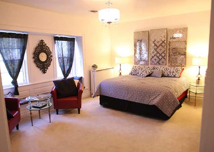 Guest Rooms at Christmas House Racine in WI