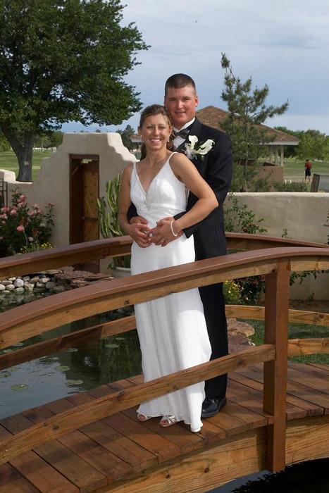 Inn at Paradise Couple Wedding