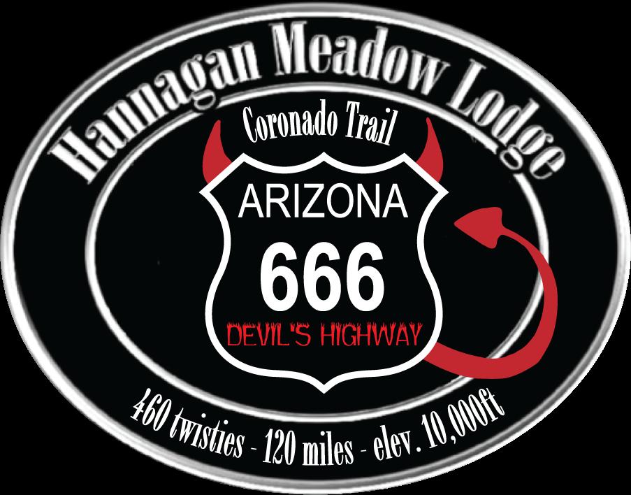 Highway 666 logo devil's highway