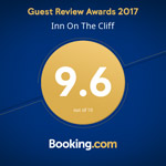 Inn on the Cliff 2017 Booking.Com Review Award