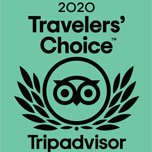 2020 travelers choice award from Tripadvisor