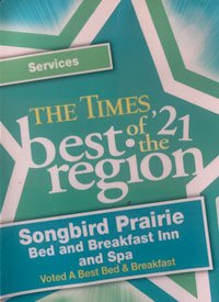 The times best of region Bed and Breakfast 2021