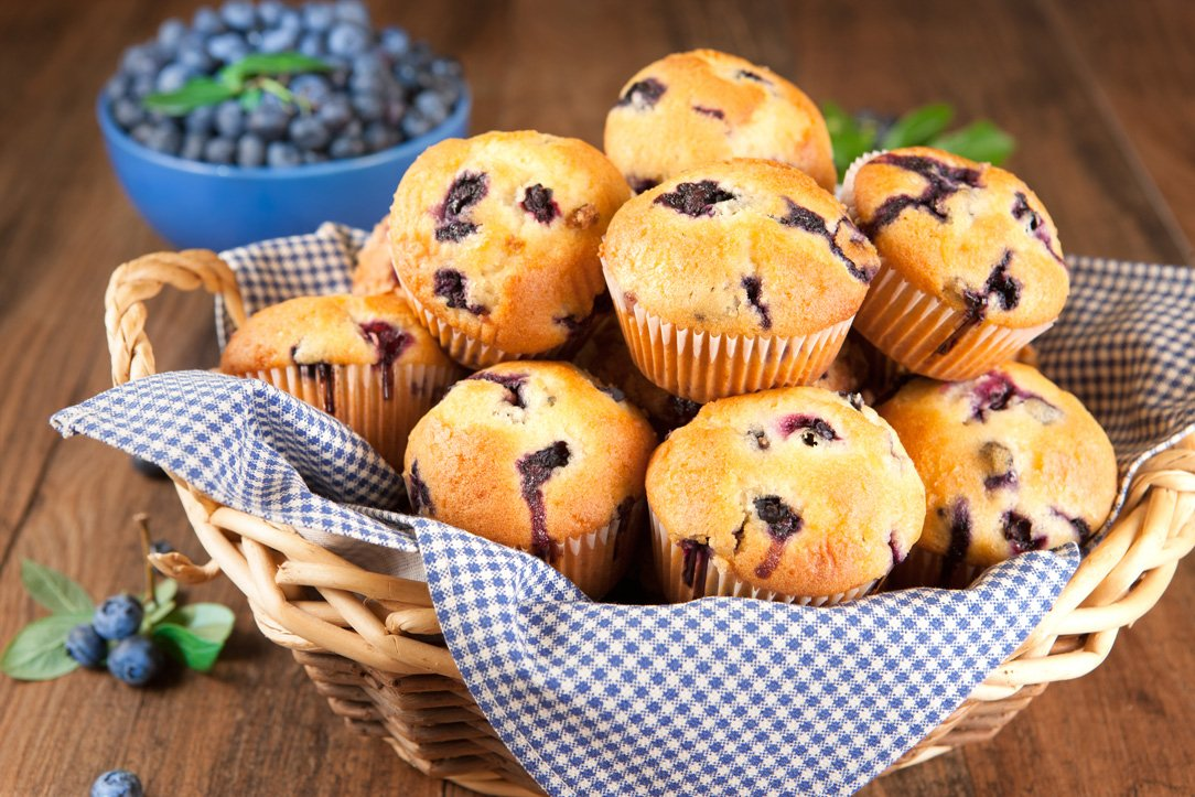 Muffins, Breakfast at the Night Swan Intracostal Bed and Breakfast in New Smyrna Beach, Florida