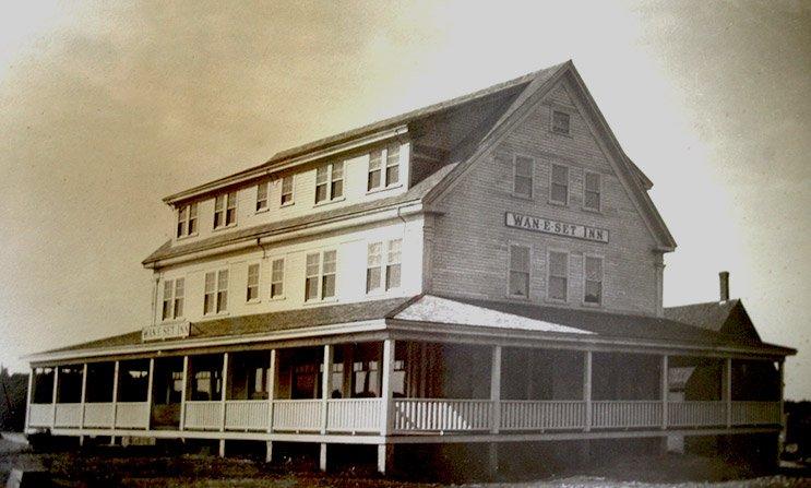 Historic Photo of East Wind Inn in Tenants Harbor, ME