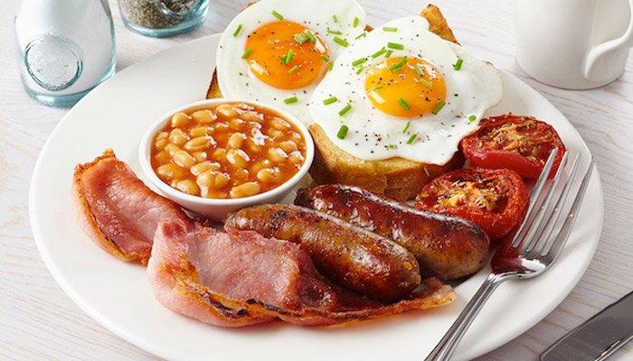 Penny Farthing Inn breakfast
