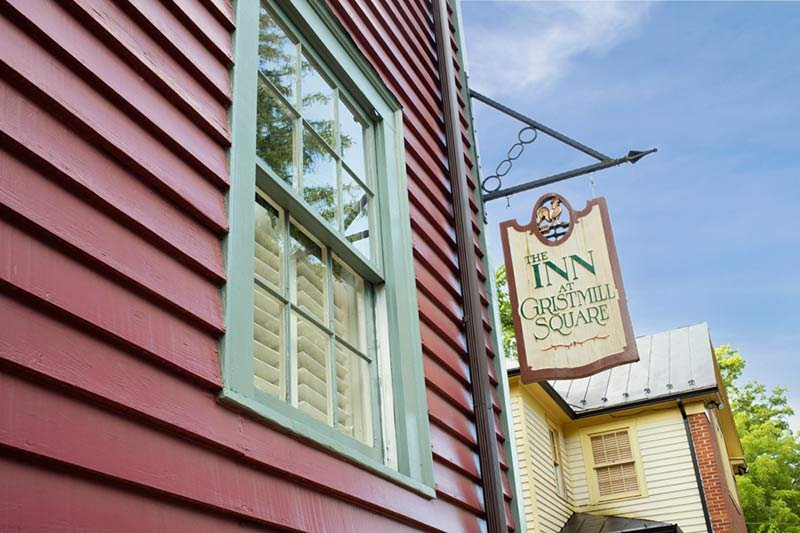About the Inn at Gristmill Square in Warm Springs, Virginia