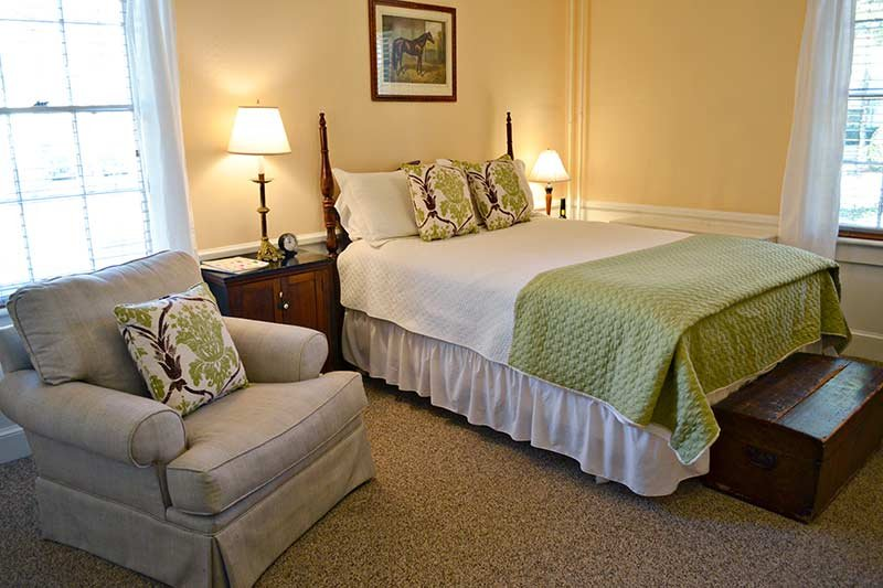 Room at the Inn at Gristmill Square in Warm Springs, Virginia