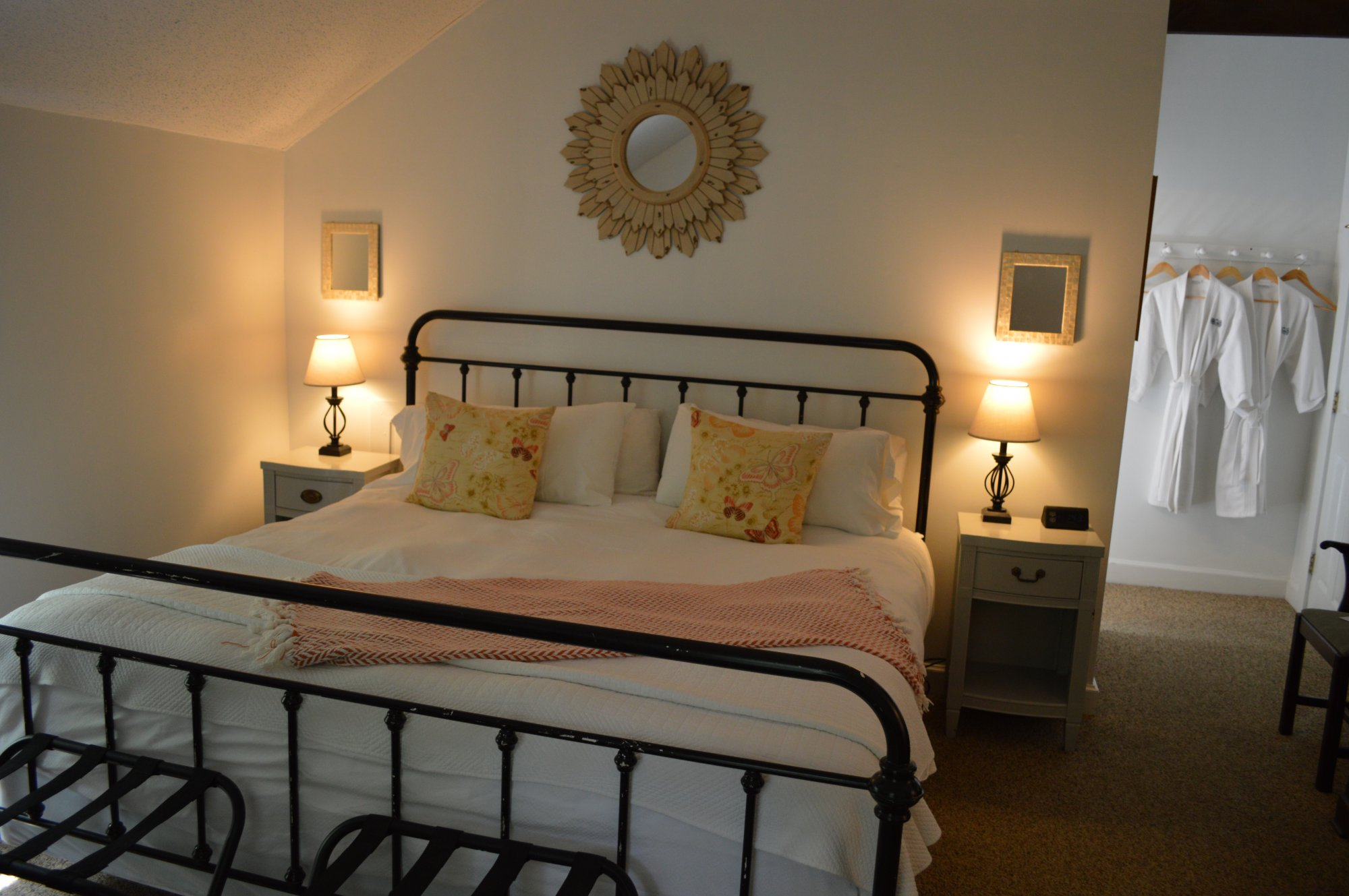 The Loft at the Inn at Gristmill Square in Warm Springs, Virginia