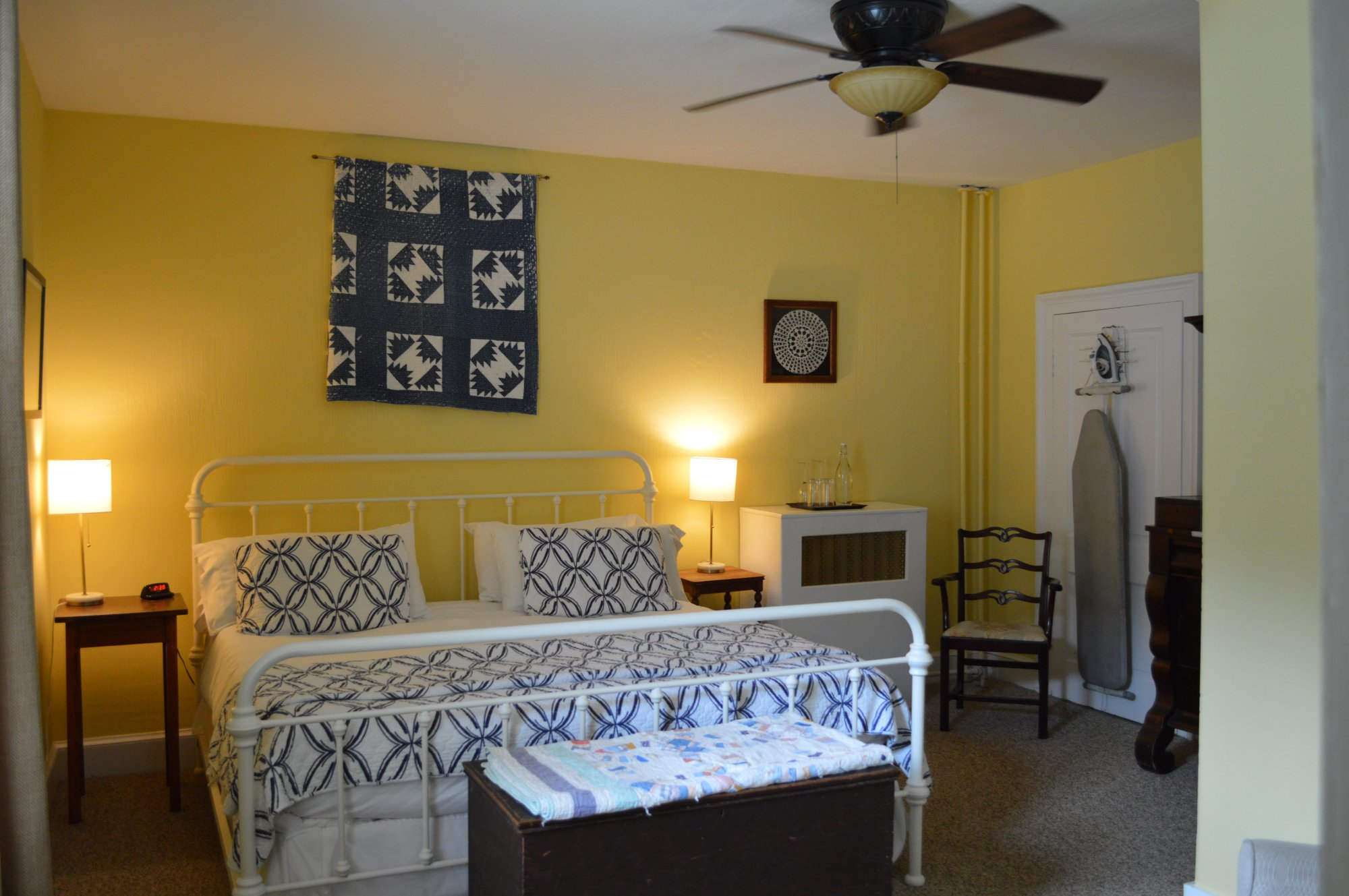 Quilt Room at the Inn at Gristmill Square in Warm Springs, Virginia