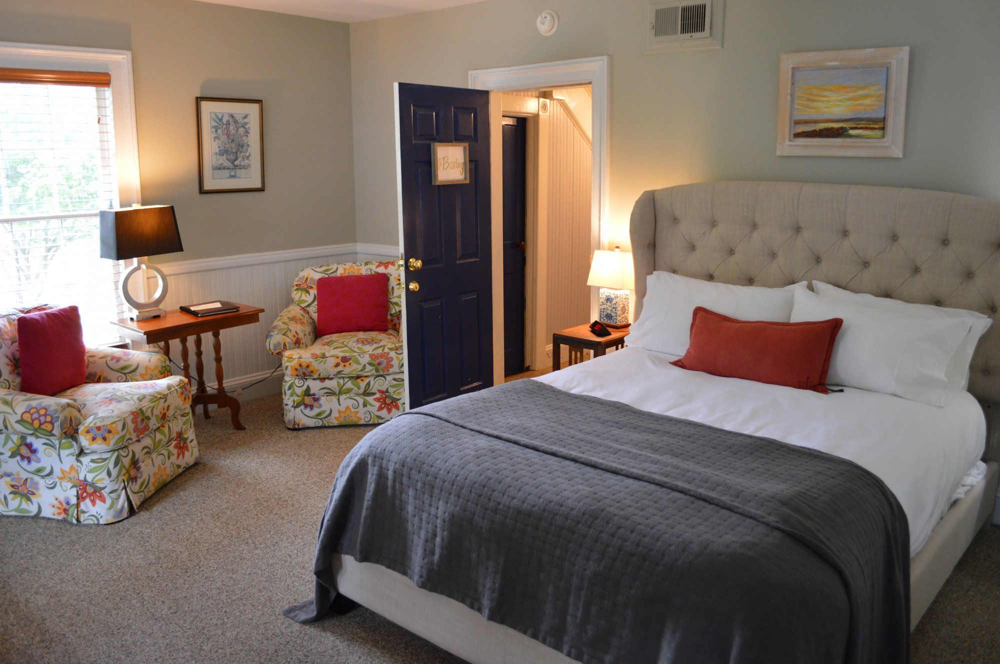 Barley Room at the Inn at Gristmill Square in Warm Springs, Virginia