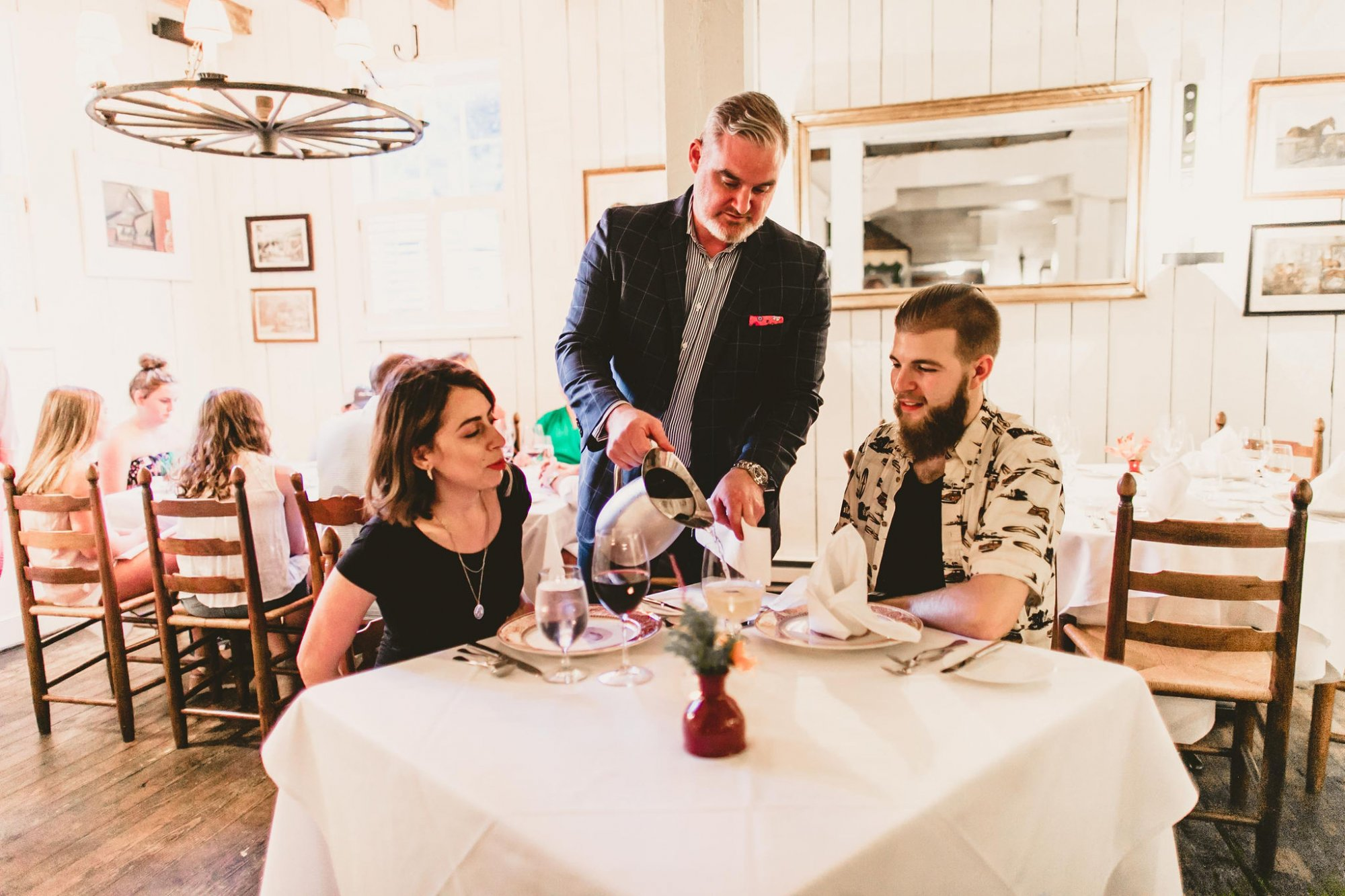 Food and Drink at Inn at Gristmill Square in Warm Springs, Virginia