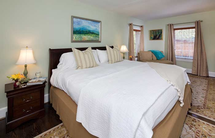 Tower Apartment at the Inn at Gristmill Square in Warm Springs, Virginia