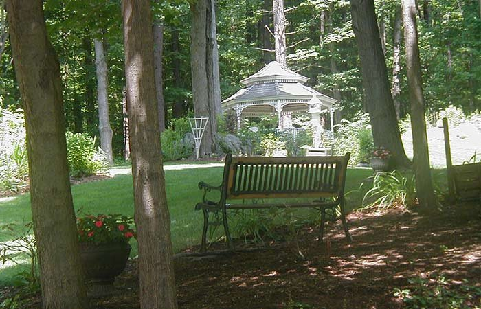 Gardens at 1868 Crosby House in Brattleboro, Vermont