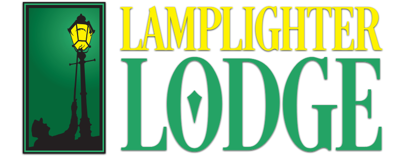 lamplighter lodge rectangle logo