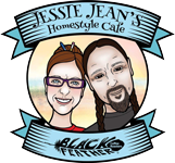 Jessie Jean's Homestyle Cafe - Black Feather