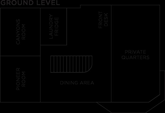Ground Level Room Floorplan