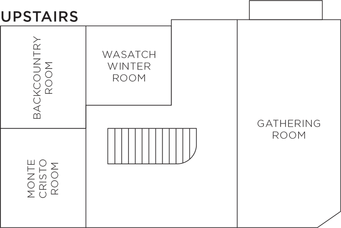 Upstairs Room Floorplan
