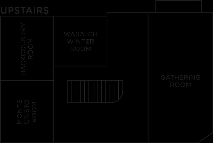 Upstairs Room Floorplan