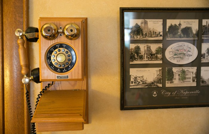 History of Harrison House bed and breakfast in Naperville, Illinois
