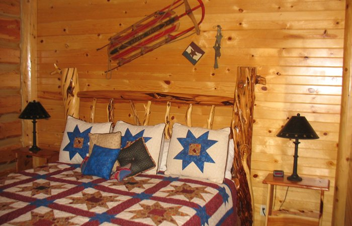 Blazing Glory room at Hayhurst Bed and Breakfast in Pine, Idaho