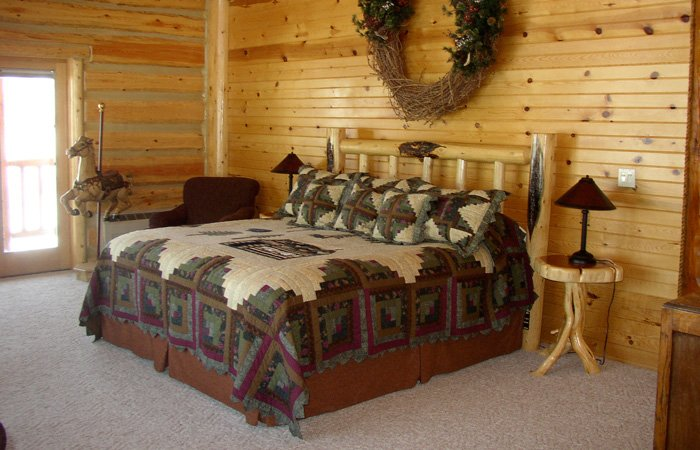 Grand Trinities room at Hayhurst Bed and Breakfast in Pine, Idaho