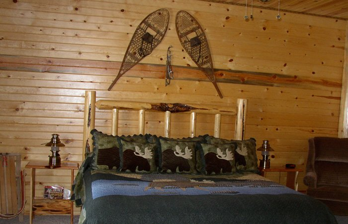 Moose Trail room at Hayhurst Bed and Breakfast in Pine, Idaho
