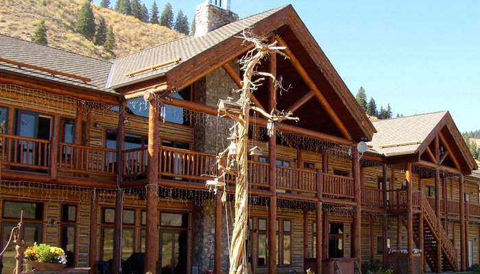 Rent the Entire Lodge at Hayhurst Bed and Breakfast in Pine, Idaho