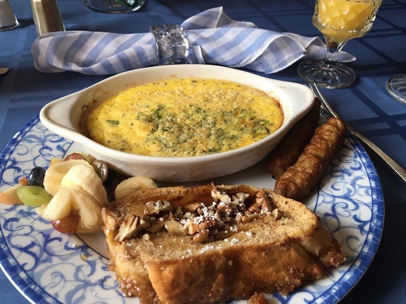 Breakfast at the Inn at Piggott in Piggott, Arkansas