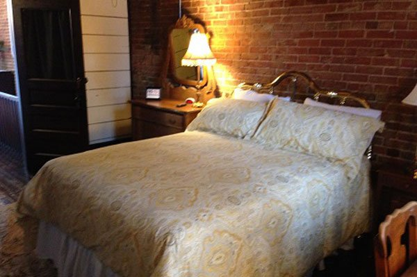 the Guest Bedroom at the Inn at Piggott in Piggott, Arkansas