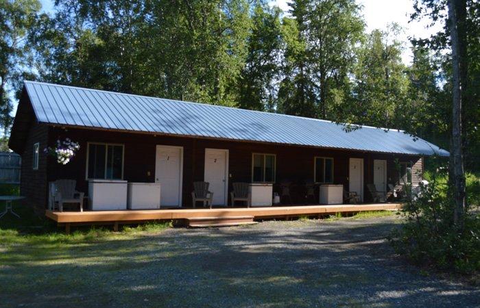 Lodging at Alaska Riverview Lodge in Kasilof, Alaska