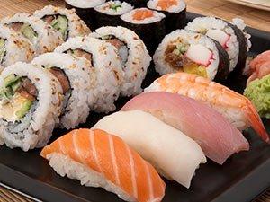 sushi near Idaho Bed and Breakfast Association
