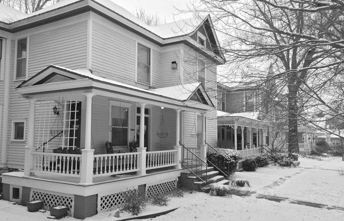 History of Walnut Street Inn in Springfield, Missouri