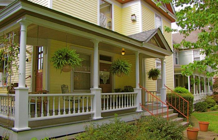 Rooms at the Walnut Street Inn in Springfield, Missouri