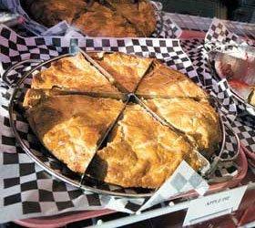 Sliced pot pie