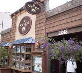 sow's ear restaurant street display