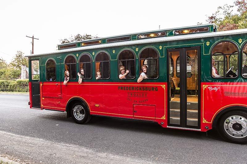 Fredericksburg Trolley Tours in Texas