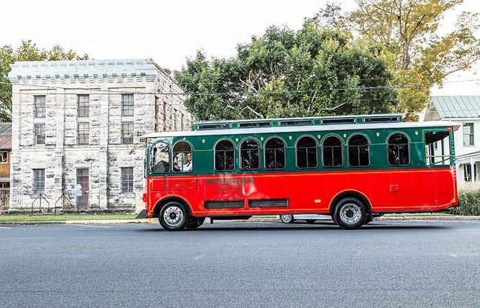 Trolley Tours of Fredericksburg, TX