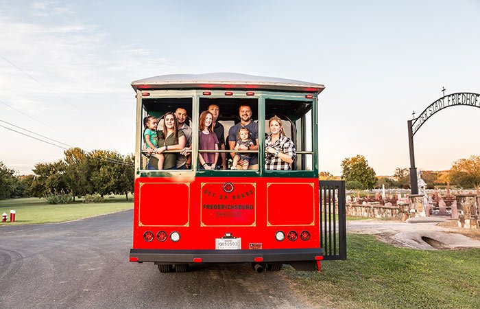 Trolley Tours of Fredericksburg, TX